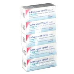 Salbutamol Stada Inhalationslösung