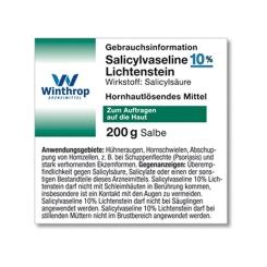 Salicylvaseline 10% Lichtenstein