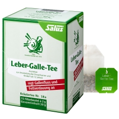 Salus® Leber Galle-Tee Kraeutertee Nr.18a