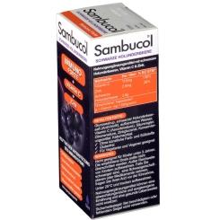 Sambucol® Immuno Forte Saft mit Vitamin C und Zink Holunderbeere