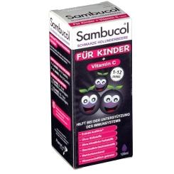Sambucol® Saft für Kinder mit Vitamin C Holunderbeere