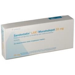 SANDOSTATIN LAR Monatsdepot 20mg Tr.-Sub.m.L.-M.
