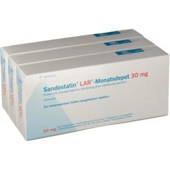 Sandostatin LAR-Monatsdepot 30 mg Durchstechflasche