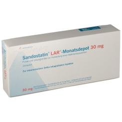 SANDOSTATIN LAR Monatsdepot 30mg Tr.-Sub.m.L.-M.