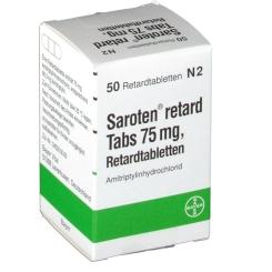 Saroten retard Tabs 75 mg
