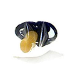 Sauger Kirsche dunkelblau gross gr.Scheibe