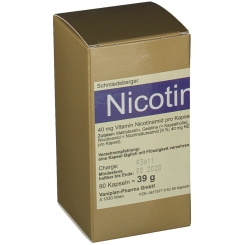 Schmiedeberger Nicotinamid