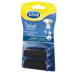Scholl Velvet Smooth Express Pedi Ersatzrollen Extra stark