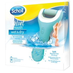 Scholl Velvet Smooth Pedi wet & dry Hornhautentferner