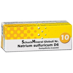 Schuckmineral Globuli 10 Natrium sulf. D6