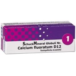 SchuckMineral Globuli Nr. 1 Calcium fluoratum D12