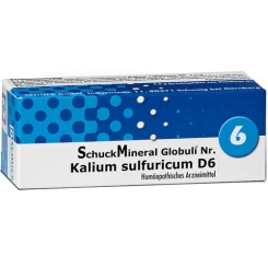 SchuckMineral Globuli Nr. 6 Kalium sulfuricum D6