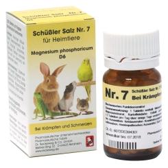Schüßler Salz Nr. 7 für Heimtiere Magnesium phosphoricum D6