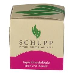 SCHUPP Tape Kinesiologie 5 cm x 5 m rot
