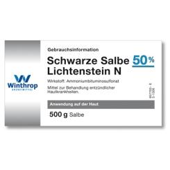 Schwarze Salbe 50% Lichtenstein N