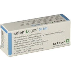 selen-loges® 50 NE Tabletten