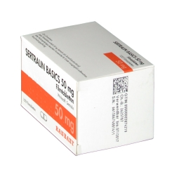 SERTRALIN BASICS 50 mg Filmtabletten RANBAXY