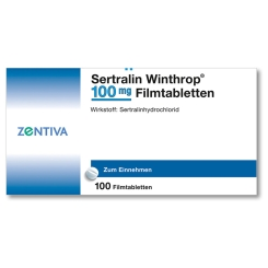 SERTRALIN Winthrop 100 mg