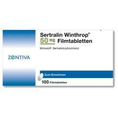 SERTRALIN Winthrop 50 mg