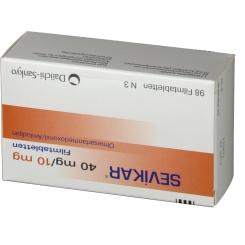Sevikar 40 mg/10 mg Filmtabletten