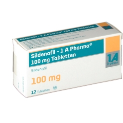 SILDENAFIL 1A Pharma 100 mg Tabletten