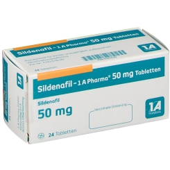 SILDENAFIL 1A Pharma 50 mg Tabletten