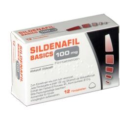 SILDENAFIL BASICS 100MG