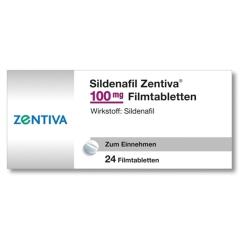 SILDENAFIL Zentiva 100 mg Filmtabletten