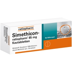 Simethicon-ratiopharm® 85 mg Kautabletten