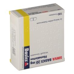 Simva Basics 20 mg Filmtabletten