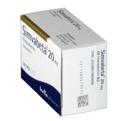 Simvabeta 20 mg Filmtabl.