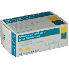 Simvastatin 1A Pharma 60 mg Filmtabletten