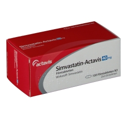 SIMVASTATIN Actavis 40 mg Filmtabletten