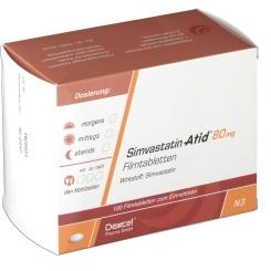 SIMVASTATIN Atid 80 mg Filmtabletten
