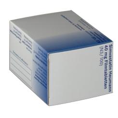 Simvastatin Heumann 40 mg Filmtabl.