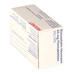 SIMVASTATIN Heumann 40 mg Heunet