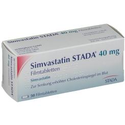 Simvastatin Stada 40 mg Filmtabl.