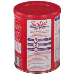 Slim Fast Milchshake-Pulver Schokolade + Shaker GRATIS