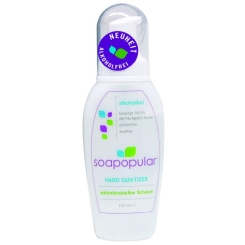 Soapopular Hand Sanitizer Schaum-Flasche