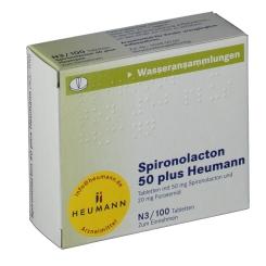 Spironolacton 50 plus Heumann Tabl.