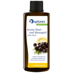Spitzner® Massage Aroma Haut- und Massageöl Acai-Yuzu