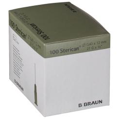 Sterican® Insulinkanüle G27 x 1/2 Zoll 0,40 x 12 mm grau