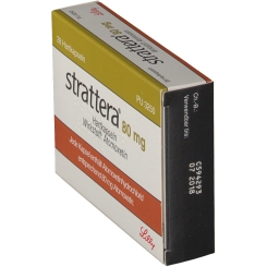 STRATTERA 80 mg Hartkapseln