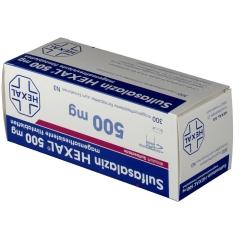 SULFASALAZIN HEXAL 500 mg