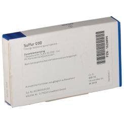 Sulfur D30 Ampullen