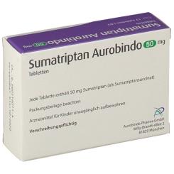 SUMATRIPTAN Aurobindo 50 mg Tabletten