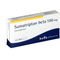 SUMATRIPTAN beta 100 mg