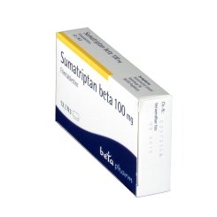 SUMATRIPTAN beta 100 mg