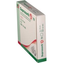 Suprasorb® A + Ag Antimikrobieller Calciumalginat-Verband 10 x 10 cm