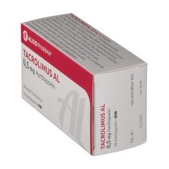 TACROLIMUS AL 0,5 mg Hartkapseln